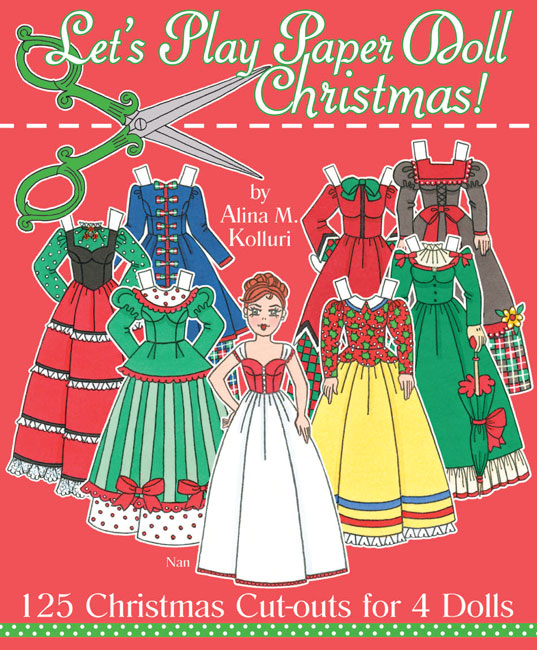 Let's Play Paper Doll Christmas!