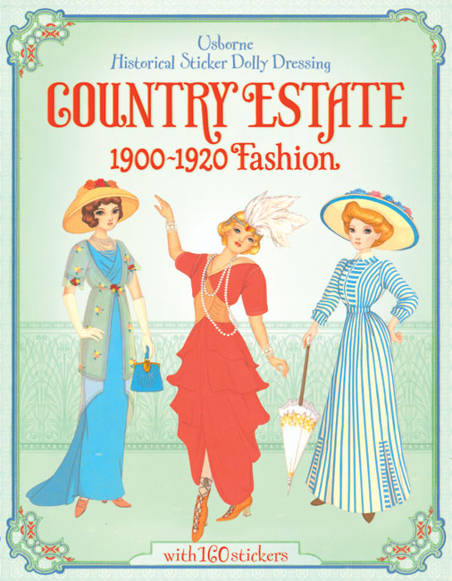 Country Estate Sticker Dressing